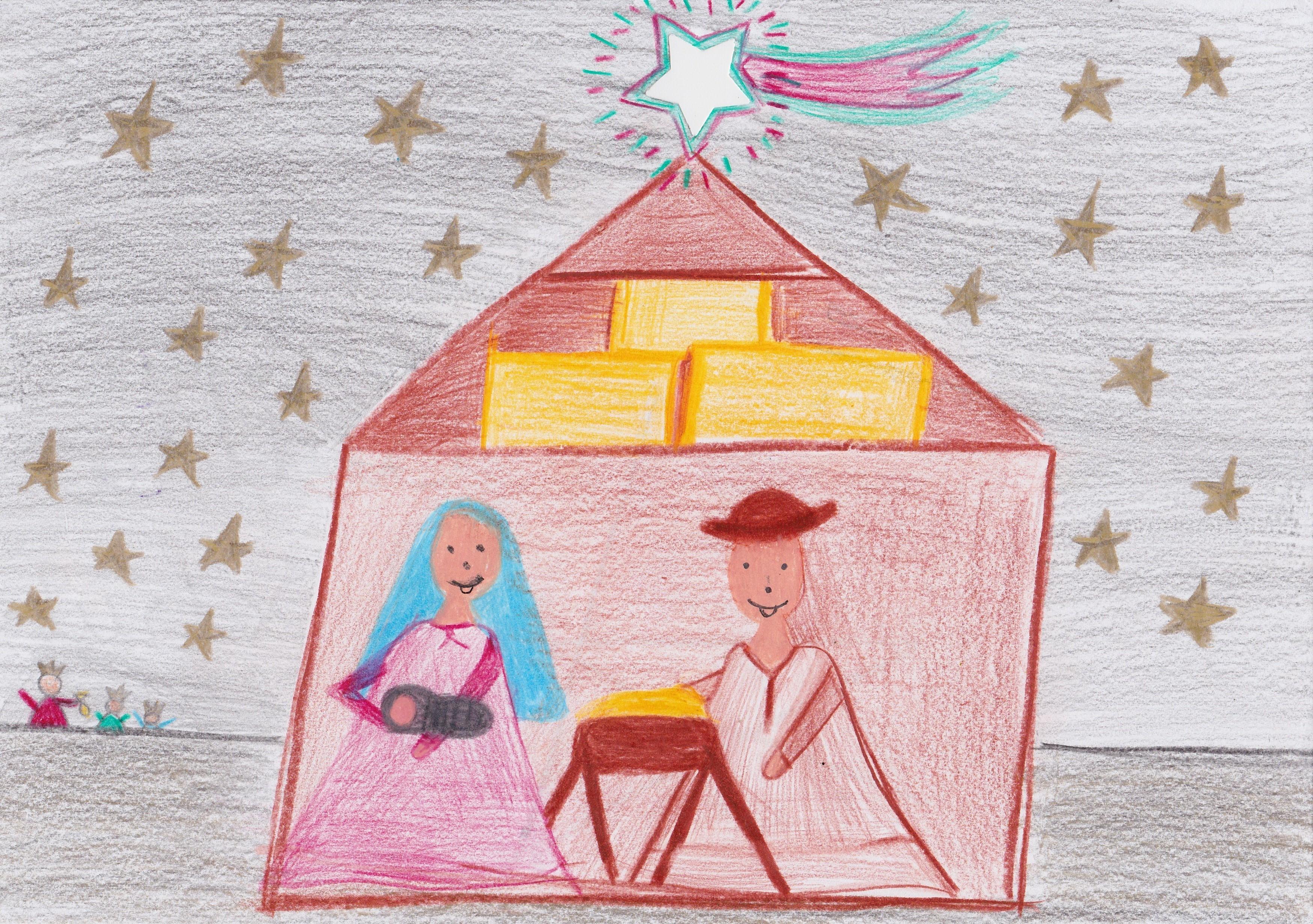 Weihnachtsbilder Gemalt.Malt Weihnachten Neue Braunschweiger