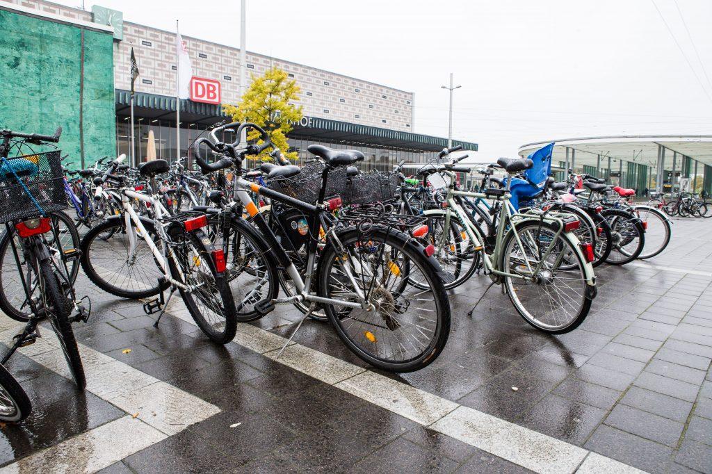 Bahnhof 50 Neue Fahrradstander Neue Braunschweiger