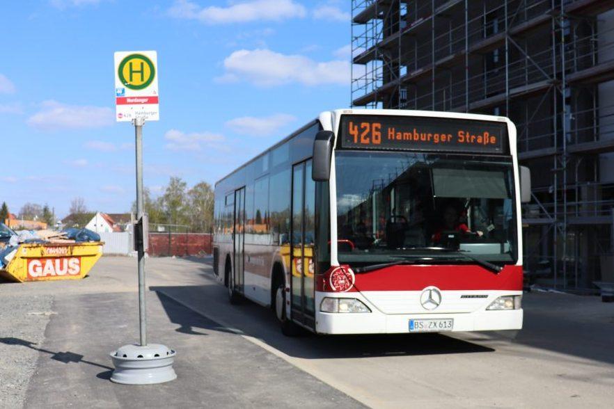 Neu 426 Fährt Durch Die Nordstadt Neue Braunschweiger